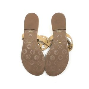 Tory Burch Shoes - Tory Burch Miller Patent Leather Sandal Flip Flops